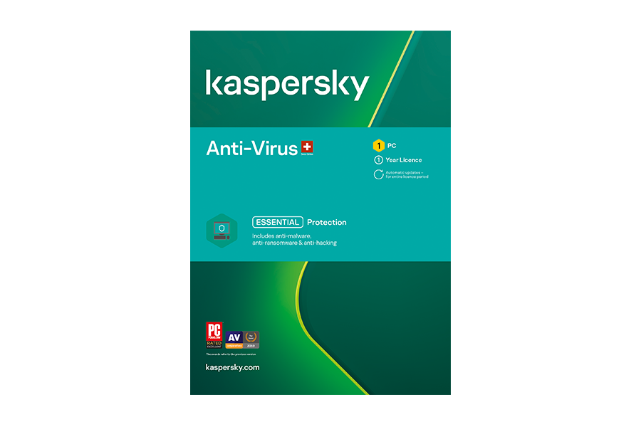 Kaspersky Antivirus 1 Gerät, 1 Jahr