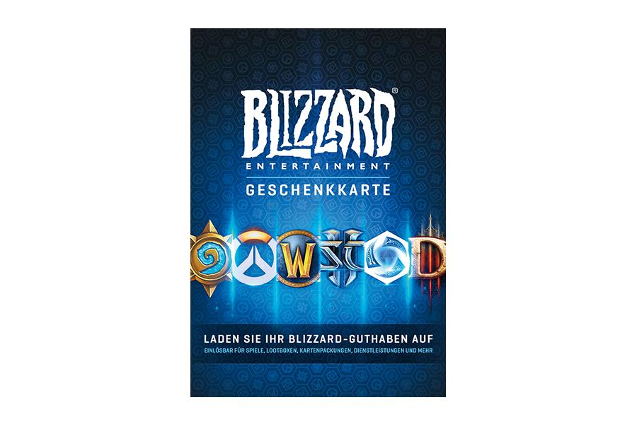 Blizzard Geschenkkarte