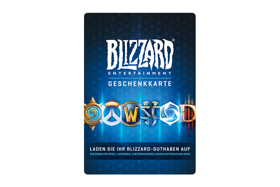 Blizzard Geschenkkarte € 20