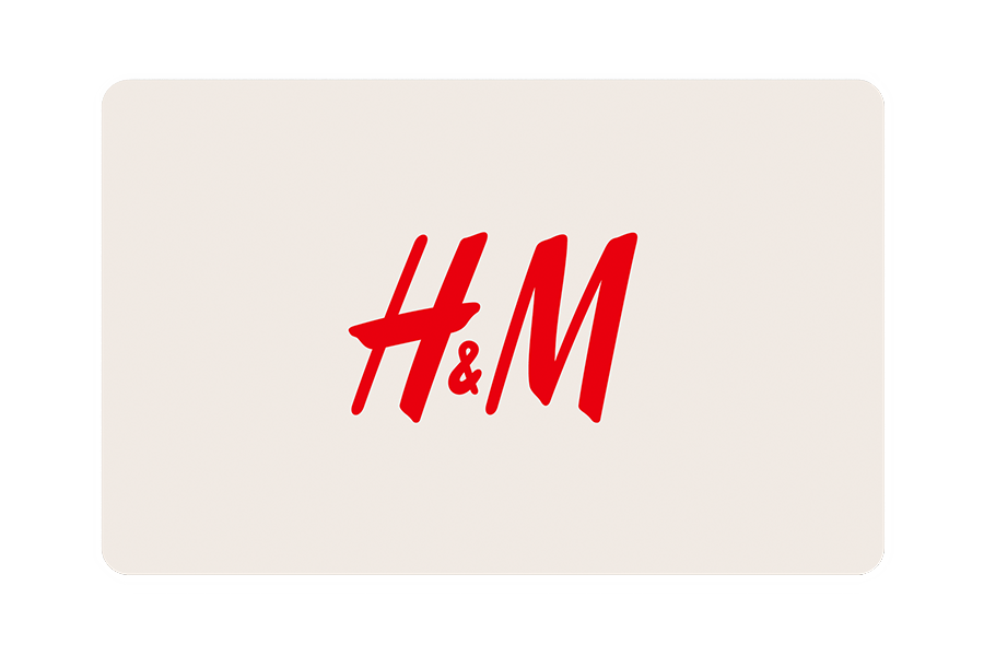 H&M Digitale Geschenkkarte € 15 - 150