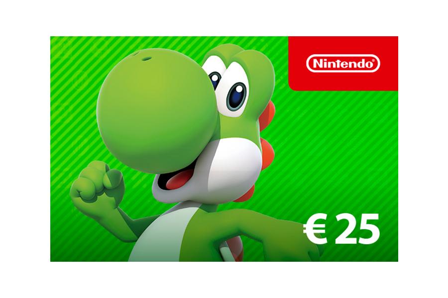 Nintendo eShop Guthaben € 25