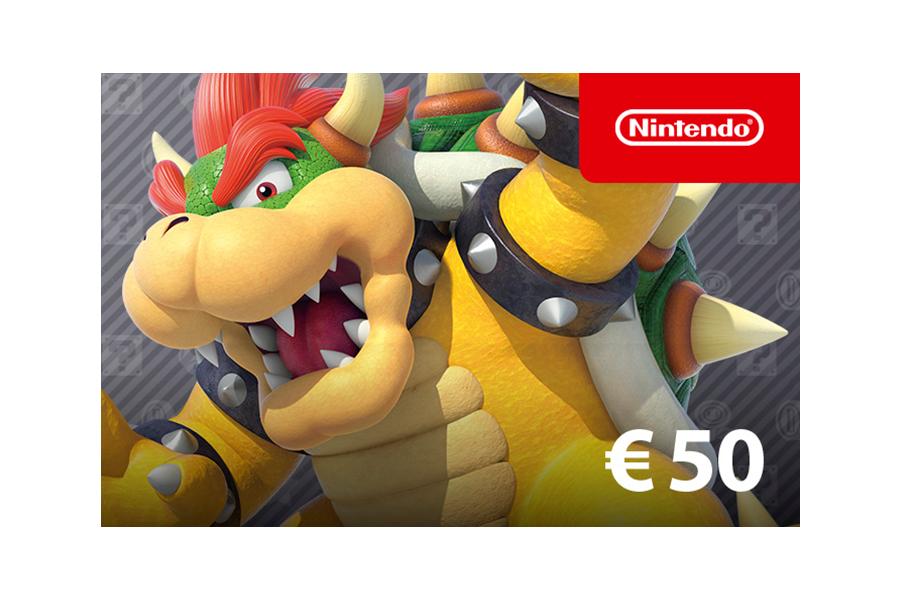 Nintendo eShop Guthaben € 50