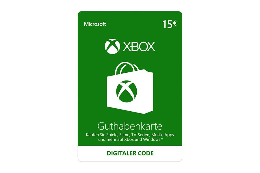 Xbox Live Guthaben € 15