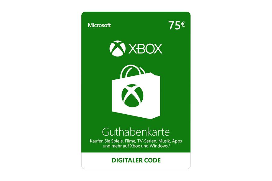 Xbox Live Guthaben € 75
