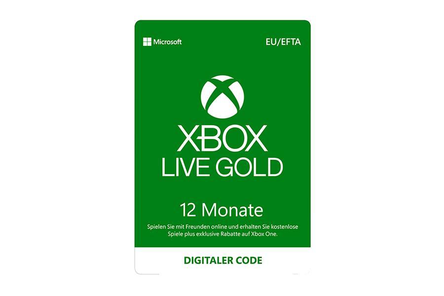 Xbox Live Gold Abonnement - 12 Monate
