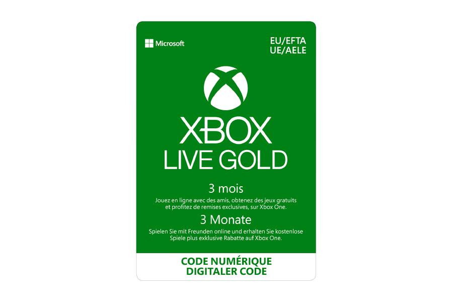 Xbox Live Gold Abonnement - 3 Monate